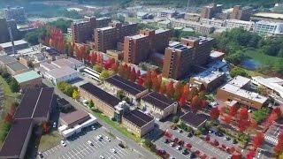 広島大学工学部・大学院工学研究科(ドローンによる空撮動画)