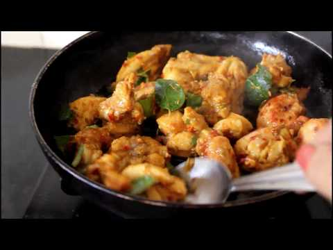 Curry leaves Chicken Fry