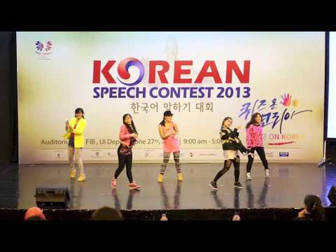 Korea Tourism Organization Indonesia Jakarta - Korean Speech Contest