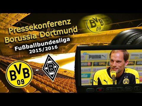 Borussia Dortmund - Borussia M`Gladbach: Pk mit Mats Hummels und Thomas Tuchel