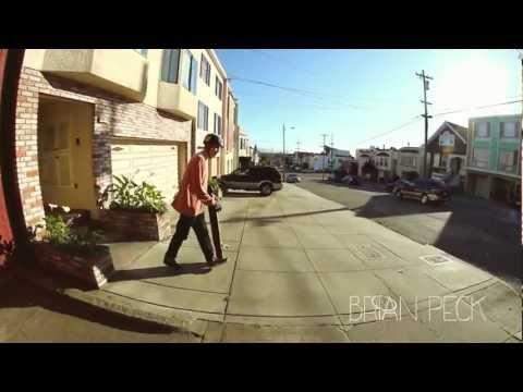 Comet Skateboards // Brian Peck in San Francisco