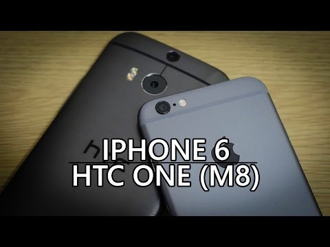 iPhone 6 vs HTC One (M8) - Quick Look