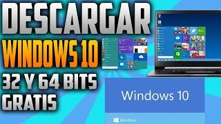 Descargar WINDOWS 10 GRATIS de MICROSOFT OFICIAL | OFFICIAL FREE DOWNLOAD - www.logeek.net