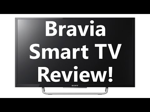 Sony 32 inch Smart TV Review!  - BRAVIA KDL-32W700C (inc. features. apps. web browser)
