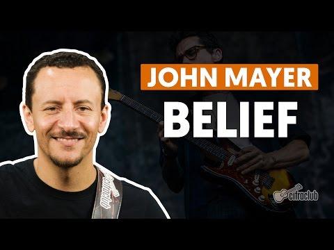 Belief - John Mayer (aula de baixo)