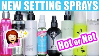 MAKEUP SETTING SPRAY SHOWDOWN | Hot or Not