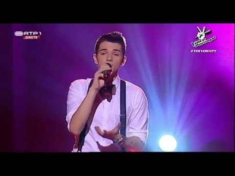 "Pedro Gonçalves – ""Love of my life"" - 1ª Gala The Voice Portugal 