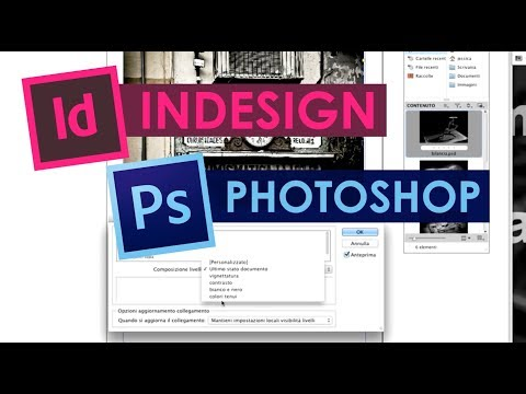 Tutorial Photoshop e Indesign in Italiano &#8211; COMPOSIZIONE LIVELLI.mov
