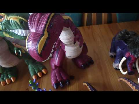 Ryan Reviews his Fisherprice imaginext Dinosaur Collection scooped for only £8