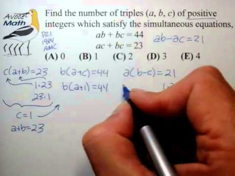 how to solve square diophantine equations