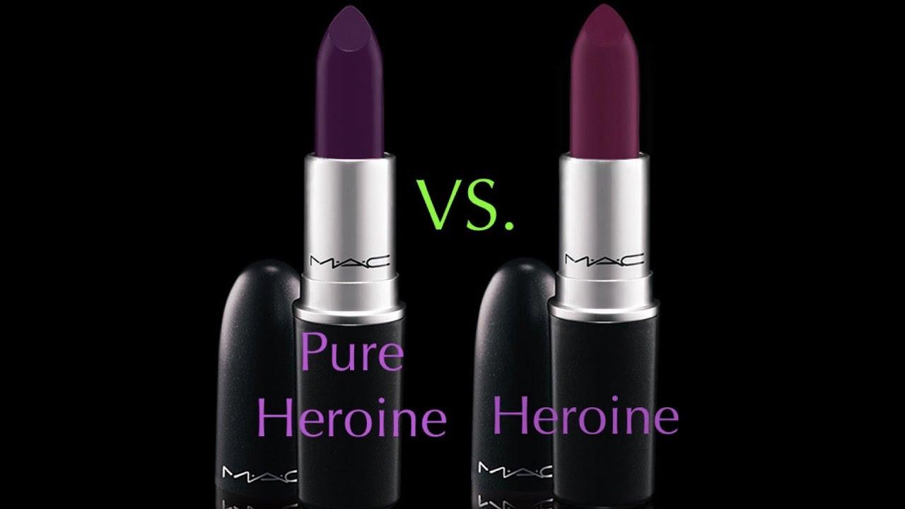 Lipstick shades mac