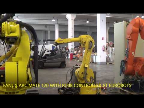 FANUC ARC MATE 120 WITH RJ3IB CONTROLLER AT EUROBOTS