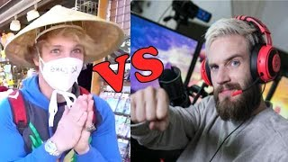 Japan Reacts to Logan Paul VS PewDiePie Japan Vlogs