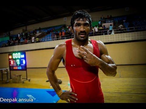Olympic Trial -2016 : Yogeshwar Dutt vs Amit Dhankhad, Final bout
