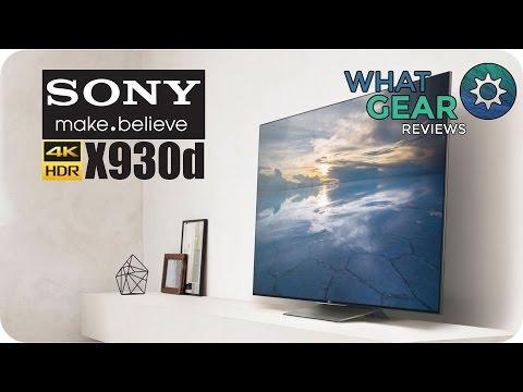 SONY BRAVIA X930d Review - 4K HDR TV - CES 2016