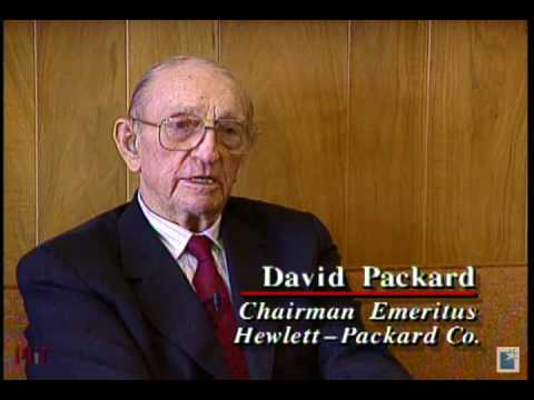 William Hewlett and David Packard, Co-Recipients, 1995 Lemelson-MIT Lifetime Achievement Award