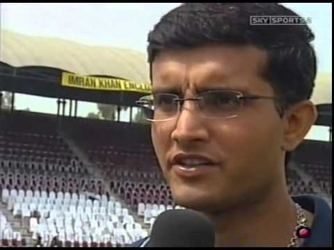 Sourav Ganguly Post Match INTERVIEW - Ind vs Pakistan at Multan 2004