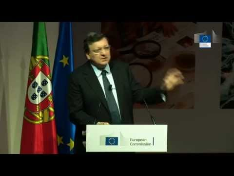 """President Barroso's speech at """"Future of Europe is Science"""""""