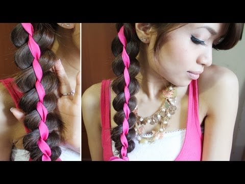 Ribbon Braid Headband Hairstyle Hair Tutorial