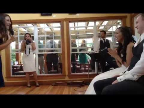 Surprise Wedding Dance! Pitch Perfect!!