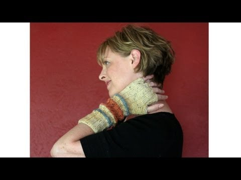 Learn to Knit Fingerless Gloves - Part 1