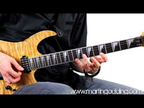Steve Vai Style Rock Lick by Martin Goulding