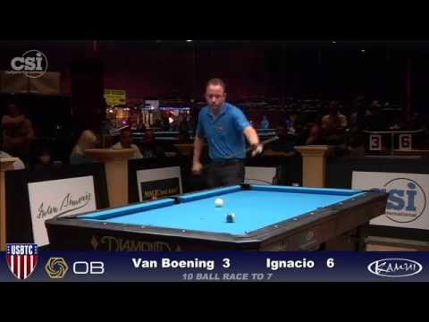 2015 USBTC 10-Ball: Shane Van Boening vs Jeffrey Ignacio