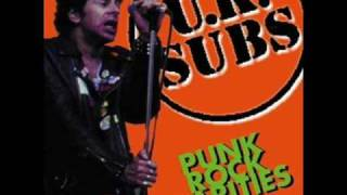Watch Uk Subs Organised Crime video