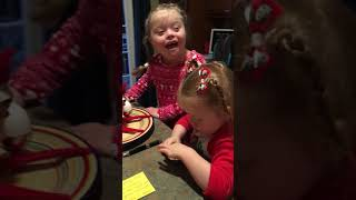 Elf On The Shelf Freddy Magic Trick Invite Day 10 Season 5 with Stasyia's Story - Down syndrome