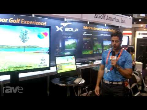 CEDIA 2013: X-Golf America Shows i2 Golf Simulator