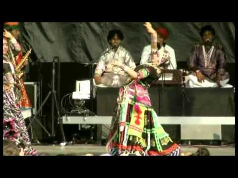 Bollywood Masala Orchestra And Dancers Of India Performance Footage video