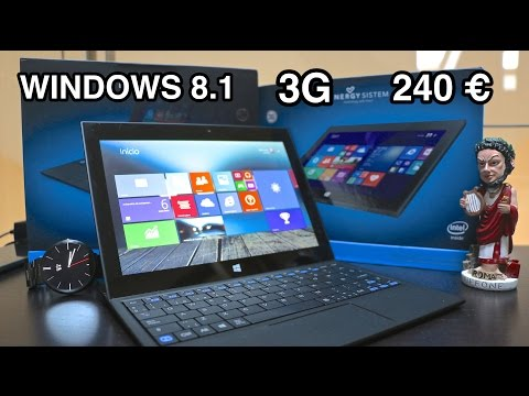 Unboxing Energy Tablet Pro 9 Windows 8.1 (PT/BR)
