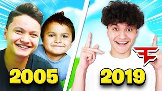 OLD FaZe Jarvis Vs NEW FaZe Jarvis (The Evolution)