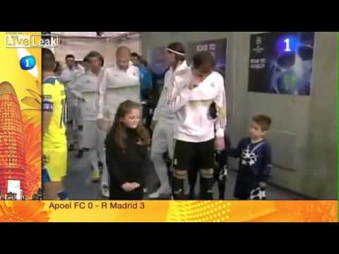 Iker Casillas disgusting prank on a child