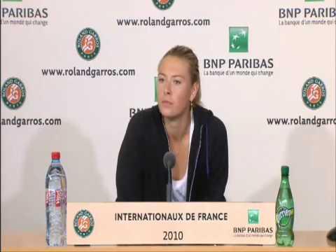 Maria Sharapova Farted !?! video