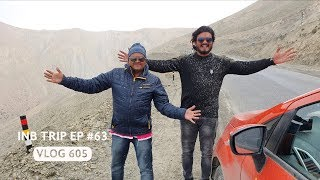 Kargil to Fatula Pass & Our First Snow Fall, INB Trip EP #63