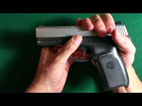 How To: Dis-assembly (Field Strip) of S&W SW40VE