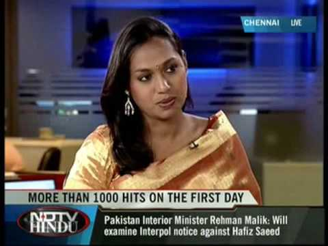 Kalki talks in NDTV Hindu Night Vision about matrimonial rights for transsexual people -  28/08/2009