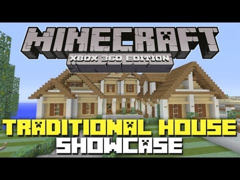 Minecraft Xbox 360: Traditional Beach House! (House Tours of Los Dangeles: Episode 1)