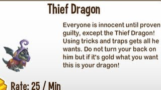 Dragon City-Thief Dragon!