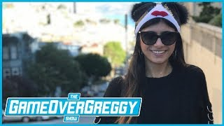 Being Recognized In Public w/Mia Khalifa - The GameOverGreggy Show Ep. 209 (Pt. 1)