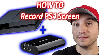 Record PS4 With elgato - How To Connect and Record Your PS4 With elgato Game Capture HD