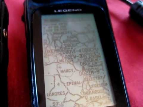 Connecting a Garmin Etrex GPS to the Yaesu VX8DR