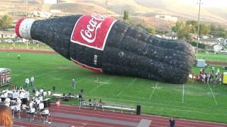 Coca-Cola Bottle Hot Air Balloon