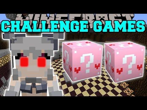 Minecraft: WERECAT CHALLENGE GAMES - Lucky Block Mod - Modded Mini-Game