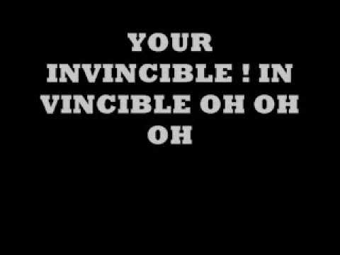 ok go - invincible w/ lyrics