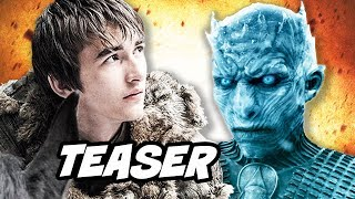 Game Of Thrones Season 8 Teaser - Bran Stark and Arya Stark Valyrian Dagger Breakdown