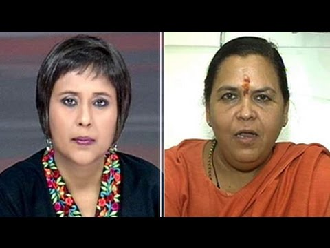 Top Court reprimand not directed at Us: Uma Bharti to NDTV