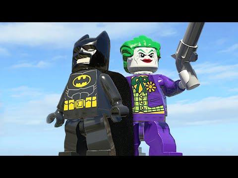 БЭТМЕН и ДЖОКЕР в LEGO Marvel Super Heroes