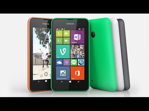 Nokia Lumia 530 - Smartphone de entrada da Microsoft